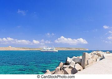 Ferry boat - Ferry serving on Malta