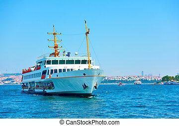 Ferry in Bosporus