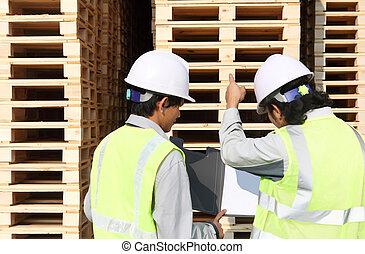 fertigungsverfahren, arbeiter