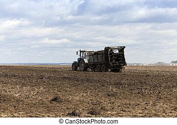 fertilizer agricultural field