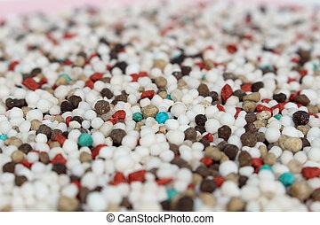Fertilizer background