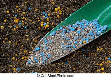 fertilizzante, 10, minerale