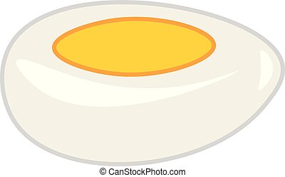 fervido, cor, difícil, ilustração, gema, vetorial, ovo, ou