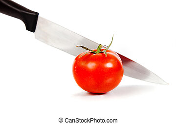 fesh red tomato vegetable