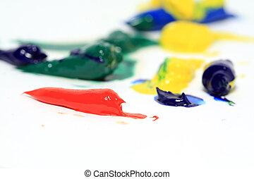 festék, fehér, olaj, háttér
