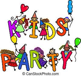 festa, bambini