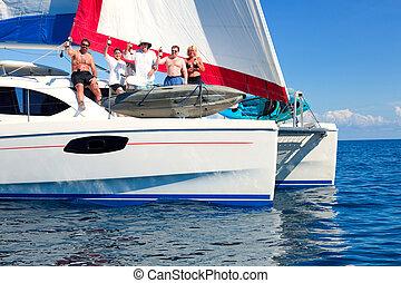 festa, barca