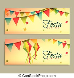 festa, junina, festival, standarta