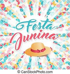 Festa Junina illustration - Brazil june festival
