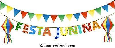 festa, junina, strnad