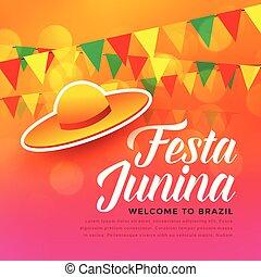 festa junina traditional festival background