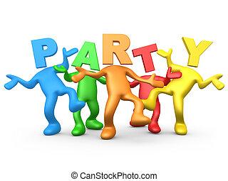 festa, persone