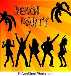 festa, spiaggia