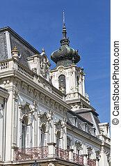 Festetics Palace in Keszthely, Hungary.