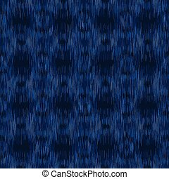 festett, minden, kék, egyenes, odaköt dye, változatos, 10, indigókék, print., eps, függőleges, háttér., felett, seamless, heathered, vektor, texture., farmeranyag, pattern., melange, ikat, kiszőkített, mez, textil, egyesült, triblend, marl
