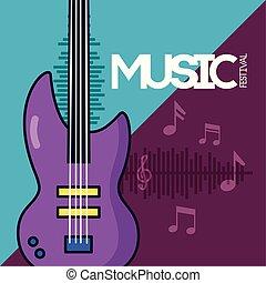 festival, affiche, musique
