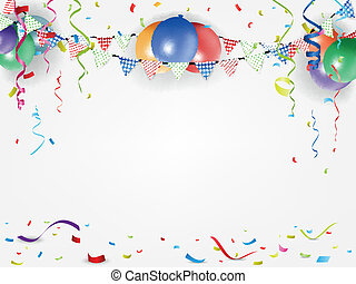 festival and holiday background - Vector Illustration of...