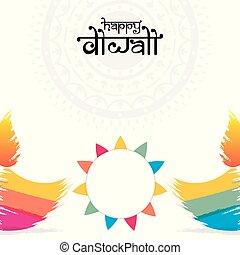 festival, diwali, hils, kreative, konstruktion, glade