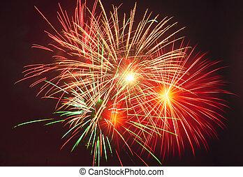 festival, fireworks, celebrare