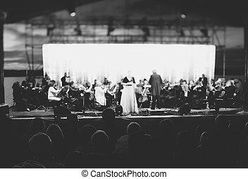 festival, hudba