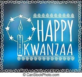 Festival Kwanzaa. Holiday card - Festival Kwanzaa. Happy ...
