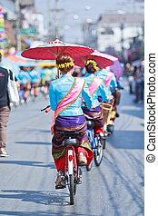 festival, ombrello, bosang