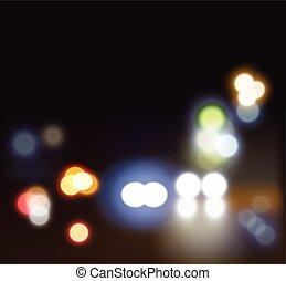 festival, realístico, vetorial, lights.