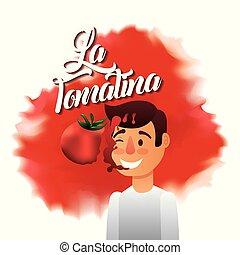 festival, tomatina, la