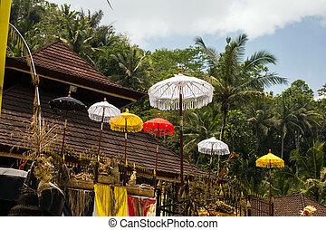 festival, viaggiare, indonesia, isola, gruppo, cerimonia,...