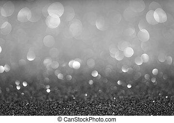 festive abstract glitter bokeh background