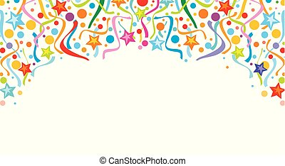 (festive, background), επισείων , σχεδιάζω , φόντο , κομφετί , πάρτυ , σχεδιάζω , εορτασμόs