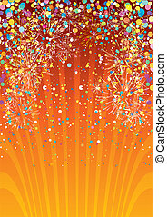 Festive background - Festive vector background
