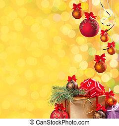 Festive bokeh background-14