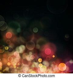 Festive bokeh background - Christmas background. Festive ...