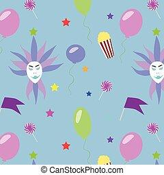 Festive Carnival Pattern