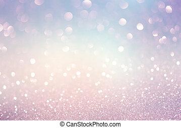 Festive Christmas abstract bokeh background, shining lights,...