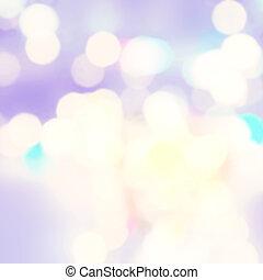 Festive Christmas background. Elegant abstract background with bokeh defocused golden lights blurred