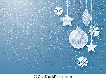 Festive Christmas Background