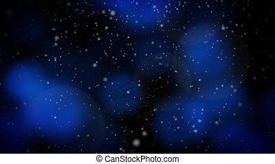 Festive Christmas Blue Loop