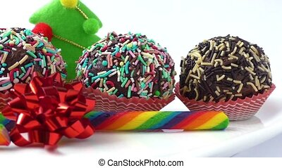 Festive christmas mini dessert