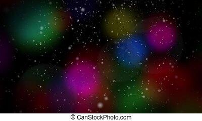 Festive Christmas Multicolor Loop