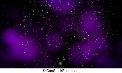 Festive Christmas Purple Loop