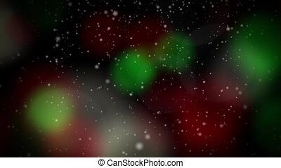 Festive Christmas Red & Green Loop