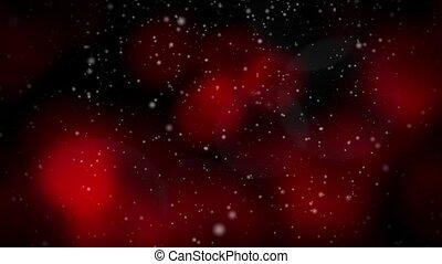 Festive Christmas Red Loop