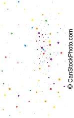 Festive delightful confetti. Celebration stars. Joyous stars...