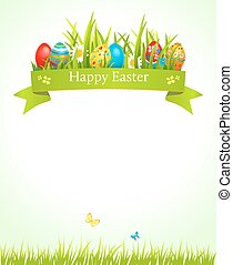 Festive Easter background