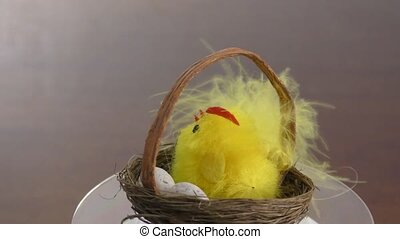 Festive Easter nest - Easter nest made for the holiday
