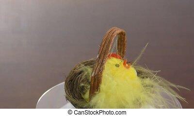 Festive Easter nest - Easter nest made for the holiday