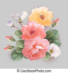 Festive flower arrangement