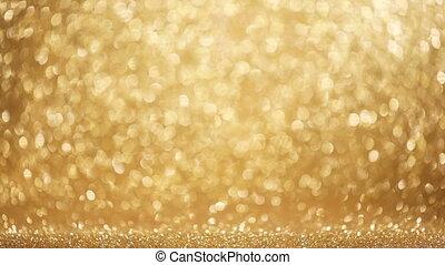 Festive glitter background - Golden festive glitter ...